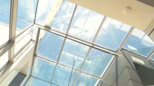 Kanopi Atap Solarflat Atap Bening Pengganti Kaca Yang Sangat Kuat